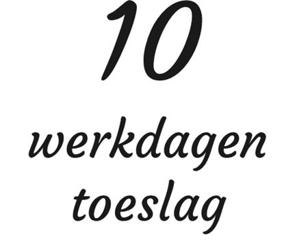 10 werkdagen