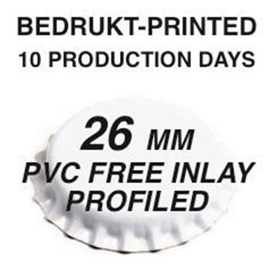 bedrukt 10 productiedagen pvc inlay